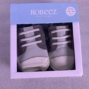 Infant Boys Robeez Trendy Trainer Sneakers